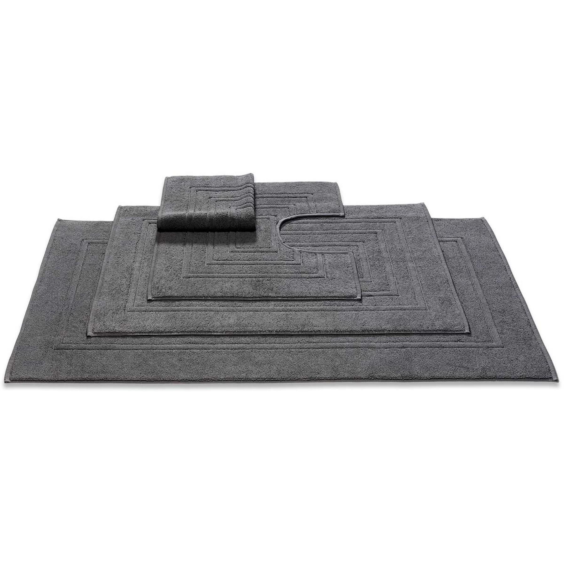 Vandyck Toiletmat Houston Dark Grey