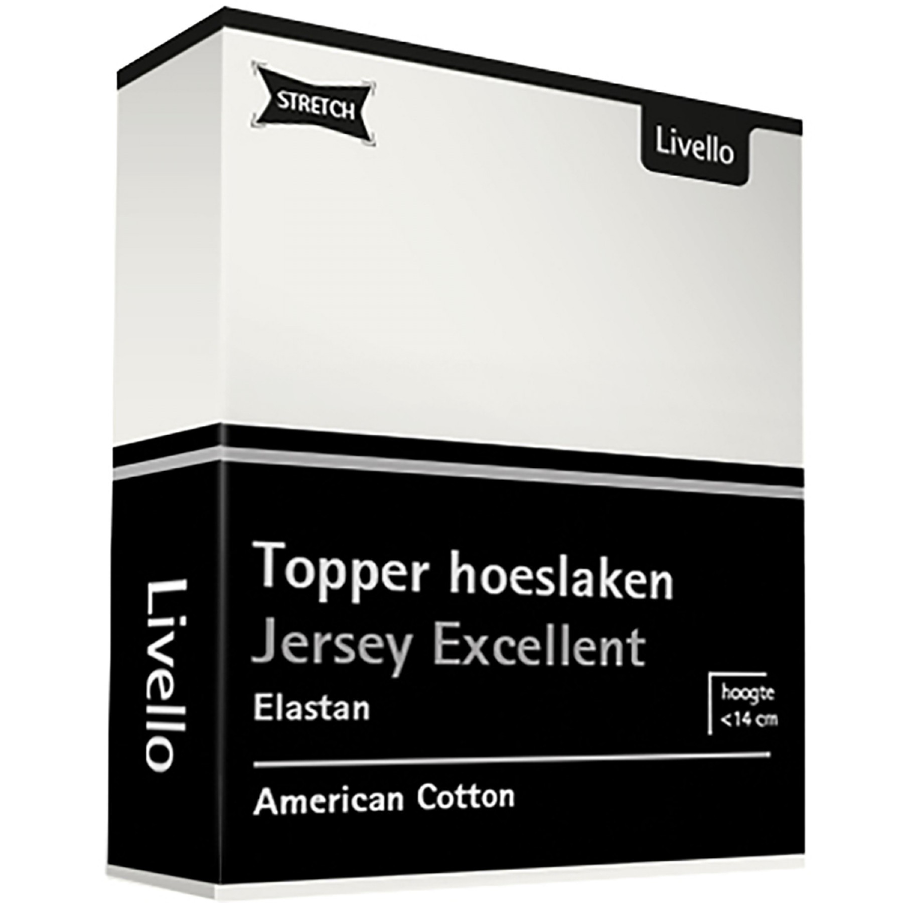 Livello Hoeslaken Topper Jersey Excellent Offwhite