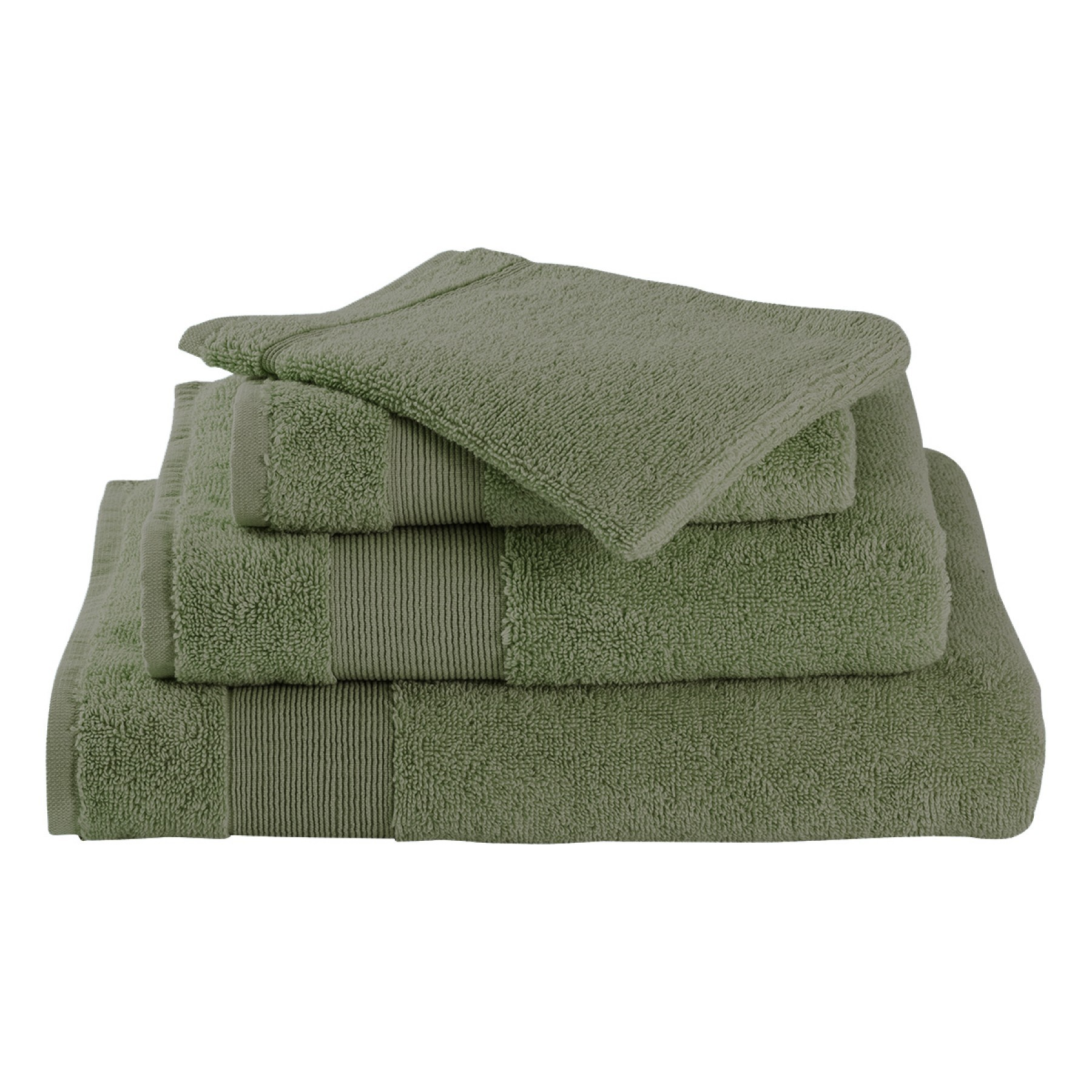 Livello Handdoek Home Collection Green