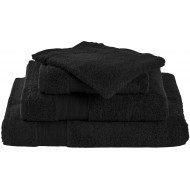 Livello Handdoek Home Collection Black