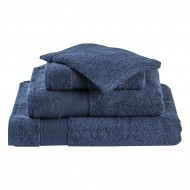 Livello Handdoek Home Collection Dark Blue