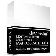 Dreamstar Hoeslaken Molton Stretch Splittopper
