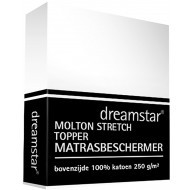 Dreamstar Hoeslaken Molton Stretch Topper
